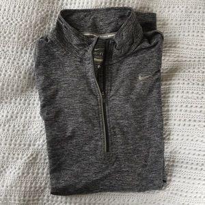 Nike Running Quarter Zip Grey Large